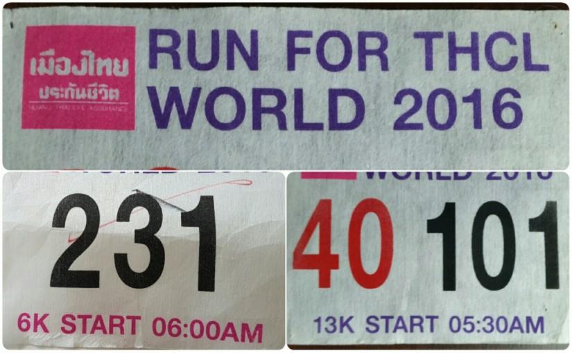 Run for THCL world 2016