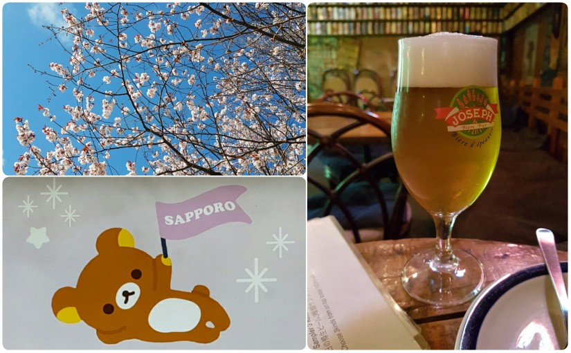 Ankunft in Sapporo