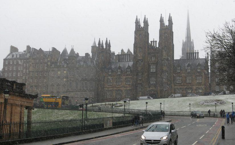 Edinburgh oder der Winter schlägt zurück